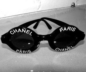 chanel, paris, and sunglasses image