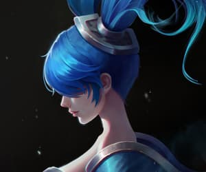 lol, league of legends, and sona image