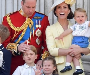 kate, prince george, and prince louis image