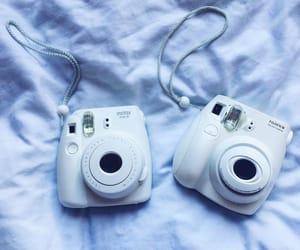 camera, polaroid, and photography image