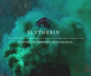 aesthetic, green, and slytherin image