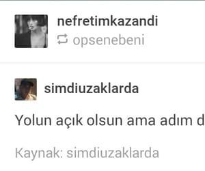 tumblr, türkçesözler, and türkçe image