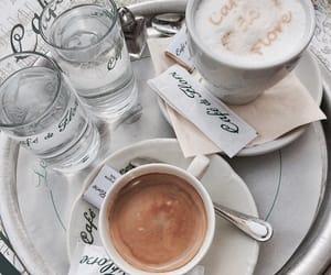 cafe, cafe de flore, and coffee image