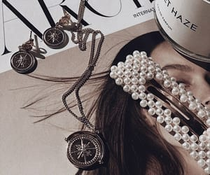 accessories, hair accessories, and necklace image