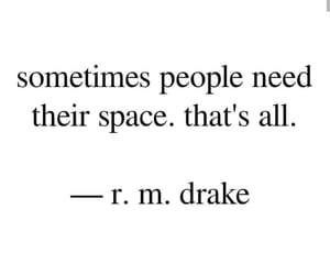 people, quote, and space image