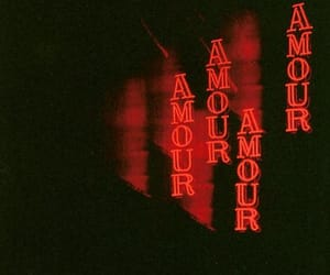 amour, red, and love image