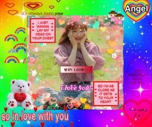 I Love You, kpop, and rainbow image