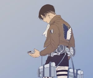 bae, levi, and snk image