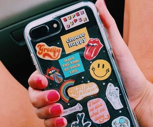 aesthetic, phone, and sticker image