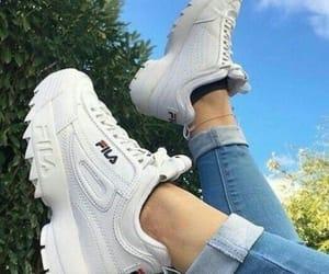 shoes, Fila, and tumblr image