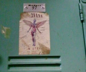 nirvana, grunge, and locker image