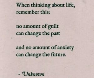 anxiety, guilt, and life image