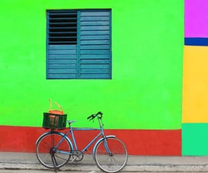 bicycle, colorful, and colors image