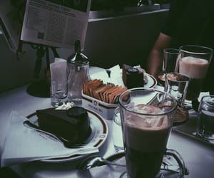 black, cake, and vibes image