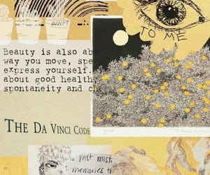 amarillo, art, and arte image