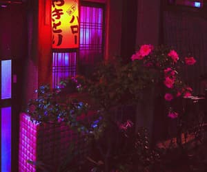 background, flowers, and japan image