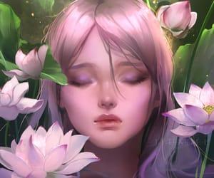 beauty, fantasy, and girl image