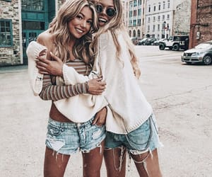 besties, forever, and friendship image