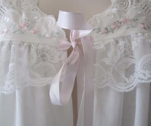 gown, pastel, and pink image