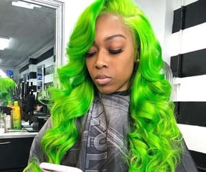 dye, fashion, and hair style image