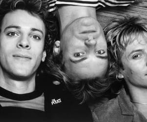 band, 80s, and moon image