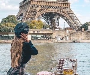 food, france, and girl image