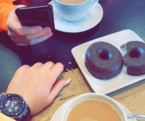 coffee, donuts, and my photos image