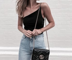 accessories, bag, and casual image