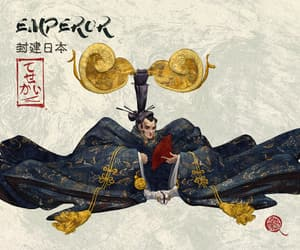 character, Emperor, and feudal image