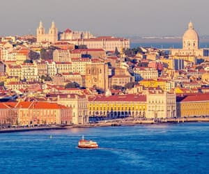 holiday, lisbon, and travelling image