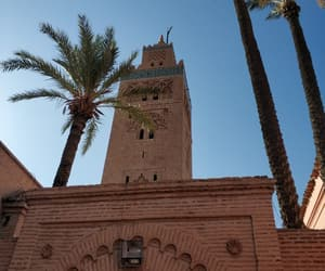 architecture, art, and marrakech image