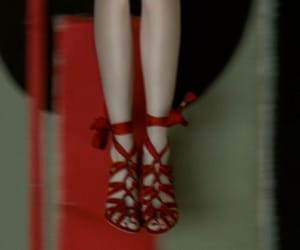 heels, photography, and red image