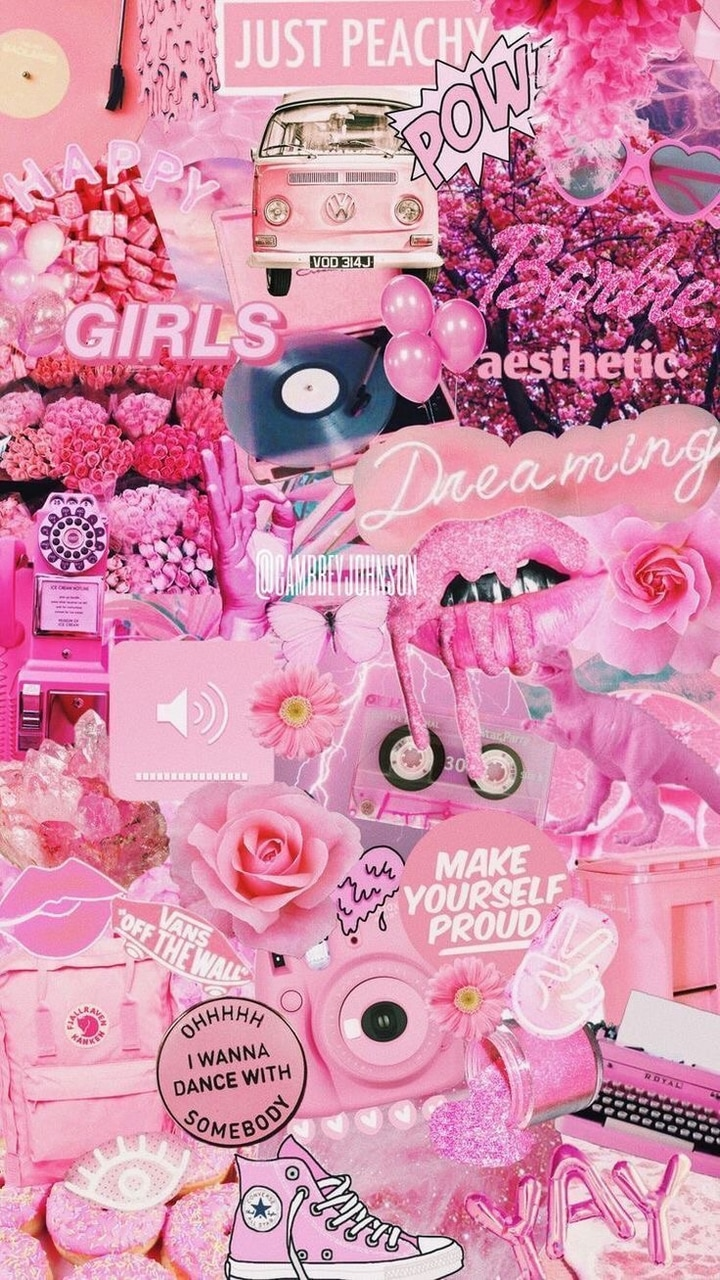 Pink And Barbie Wallpaper I M In Love With Pink And Idc If U