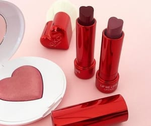 red, aesthetic, and beauty image