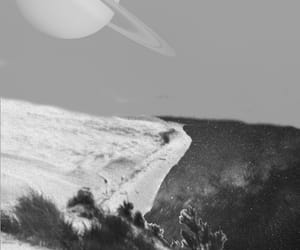 beach, trippy, and saturn image
