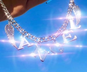 aesthetic, angel, and bling image