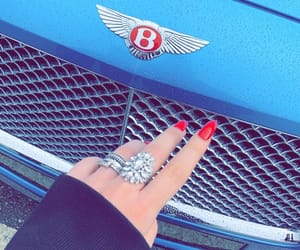 Bentley, blue, and diamond ring image