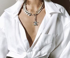 chanel, fashion, and necklace image