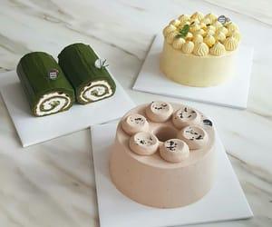cake, coffee, and sweet image