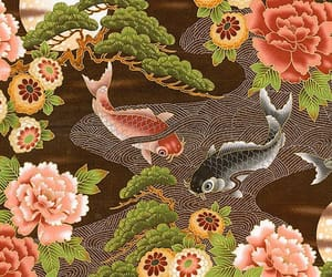 asian, ethnic, and fish image