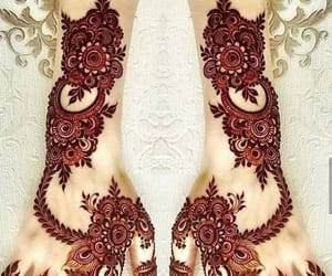 hands, henna, and mehndi image