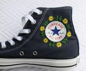 all star, converse, and diy image