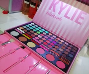 makeup, pink, and kylie image