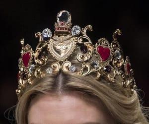 crown, Dolce & Gabbana, and fashion image
