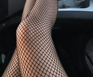 90s, fishnets, and girl image