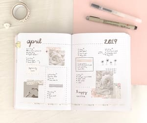 april, idea, and journal image