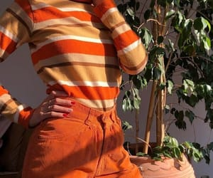 orange, fashion, and style image