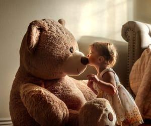 bear, love, and autumn image
