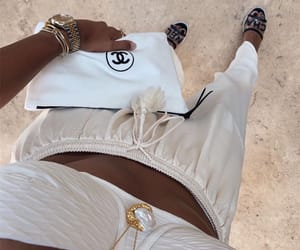brown, chanel, and dark image