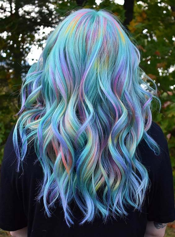 article, color, and hair image